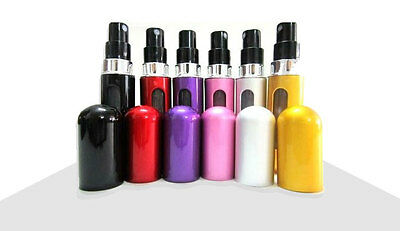 6ml EASY REFILL Refillable Perfume Atomiser Atomizer Aftershave Travel Spray