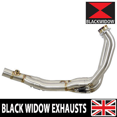 R6 Yzf600 Exhaust Headers Down Pipes De Cat Race Pipes 2012- 2016