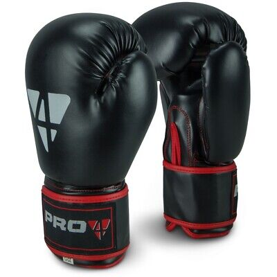 "Pro4 Boxhandschuhe ""Fight"" 10 12 14 16oz - günstig top smu speed rodney Fitness"