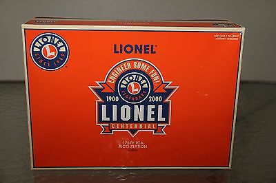 Lionel Building Kit 6-52210 Rico Station TCA 17579 2000