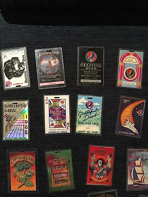 "grateful dead Rare Backstage Pass ""Laminate"" Collection"