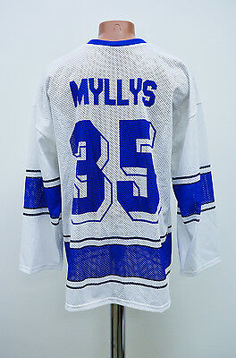 Finland National Team Ice Hockey Shirt Jersey Ksb Myllys #35