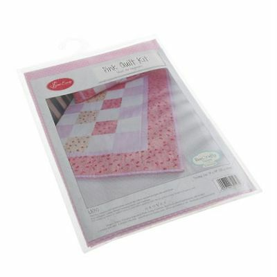 Sew easy pink quilt kit ideal for beginners
