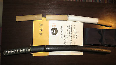 WAKIZASHI w NEW koshirae  Antique EDO period Japanese Samurai Sword Katana