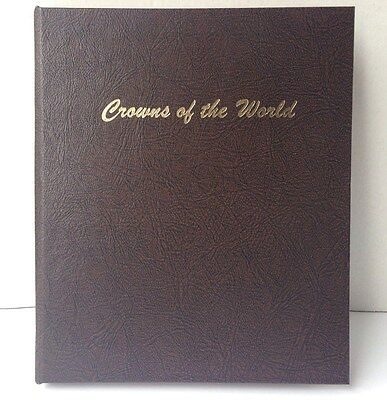 Dansco Coin Album #7010 Crowns of the World 5 Page Collector Book NEW