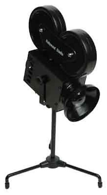 Movie Camera Lamp Home Theater Decoration Cinema Light Black Accent Piece New
