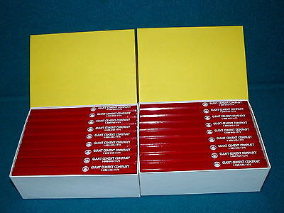 1 GROSS : Red Lead CARPENTERS PENCIL 144 Count @ GIANT CEMENT COMPANY