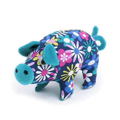 S&W flowers a plenty pig Pin Cushion