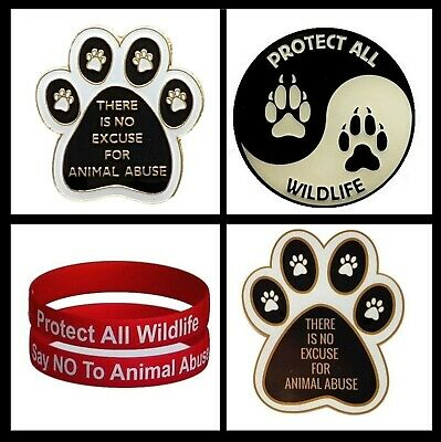 Protect All Wildlife Conservation Pack (Badge, Car Sticker & Wristband)