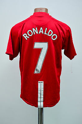 Manchester United 2007/2008/2009 Home Football Shirt Jersey Nike Ronaldo #7