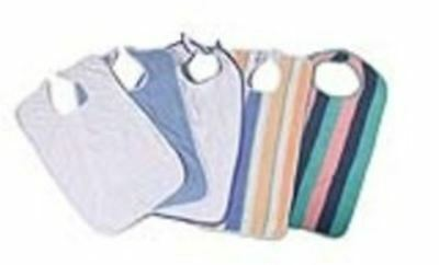 "Value-Packed Terry Clothing Protectors - 17"" x 34"" (Pastel) - 13 oz - 6 Dozen /"