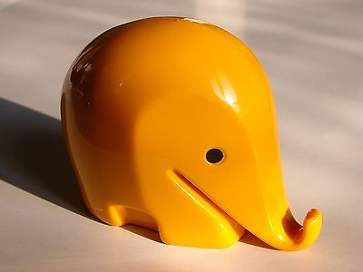 LUIGI COLANI/ DESIGN POP 60s/ ELEPHANT TIRELIRE J 6,5cm