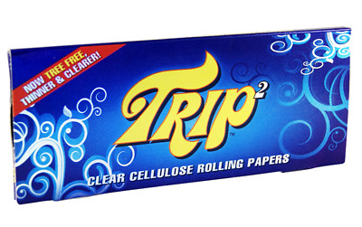 Trip Crystal Clear King Size Rolling Papers