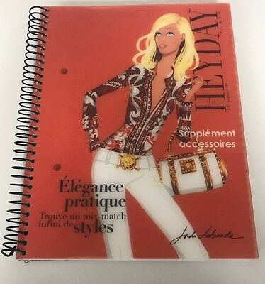 JORDI LABANDA HeyDey Special Haute Couture Notebook 6 X 8 RARE and NEW