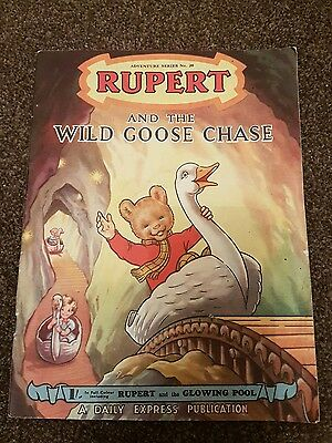 RUPERT THE BEAR ADVENTURE SERIES #20 and the Wild Goose Chase