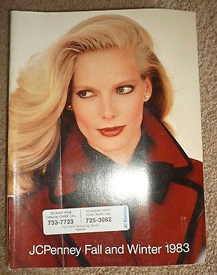 Vintage 1983 JCPenney Fall and Winter  '83 Store Catalog Penneys