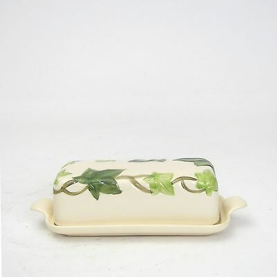 Franciscan Pottery Ivy Pattern Butter Dish and Lid 1953-58 Mark