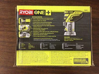 Ryobi P601 18V 18-Volt ONE+ micro-adjusting to dial Trim Router (Bare Tool Only)