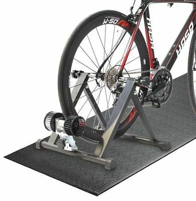 Indoor Bicycle Bike Wind Trainer with Training mat