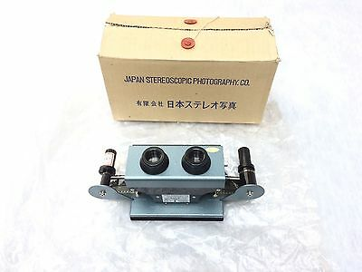 Rare Stereo Viewer N4-1 Japan Stereoscopic Photography. CO.