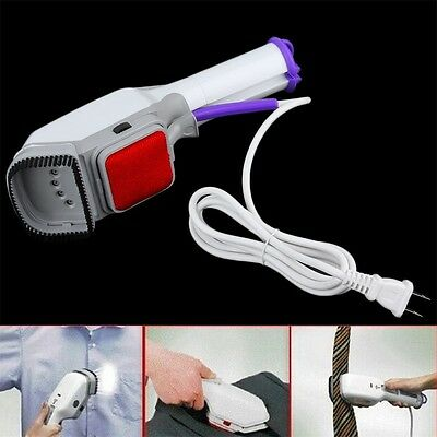 Handheld Fabric Iron Laundry Suits Clothes Electric Steamer Brush US Plug YK