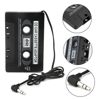 Car Cassette Tape Adapter Converter for MP3 iPhone 4 4S iPod Touch Nano CD MD HS