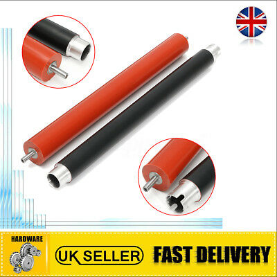2Pcs Fuser Heat Roller+Pressure Roller For Brother HL3140 3170 3150 MFC9130 9140
