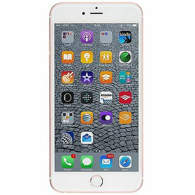 New Apple iPhone 6S Plus 64GB FACTORY UNLOCKED GSM Rose Gold Smartphone