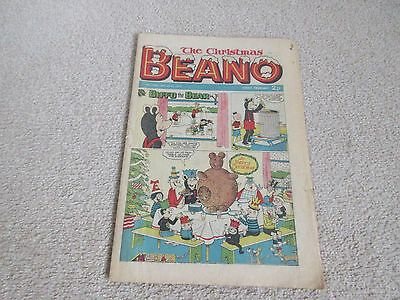 THE CHRISTMAS BEANO COMIC No 1640- Dec 22nd 1973- good condition-