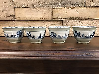 Japanese Hand Painted Porcelain Cups