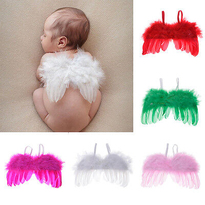 Baby Infants Newborn Feather Angel Wings Fashion Photo Decor Photo Prop Outfit