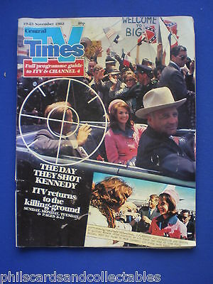 TV TImes - Kennedy Assassination Drama  19th November 1983