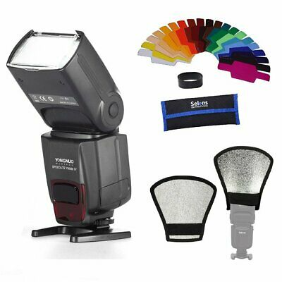 Yongnuo YN-560 IV Wireless Flash Speedlite For Nikon Canon+Mini-Reflector+Filter