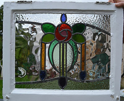 British leaded light stained glass window. R344i. WORLDWIDE DELIVERY!!!