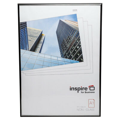 EASA1BKP Easy Loader Non Glass A1 (59x84) Black Certificate Poster Photo Frame