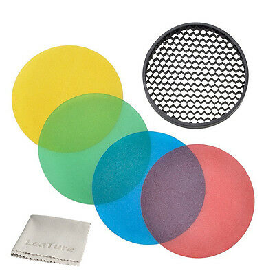 Godox AD-S11 Color Filter Honeycomb Grid Cover Gel Packfor Witstro AD200 AD360