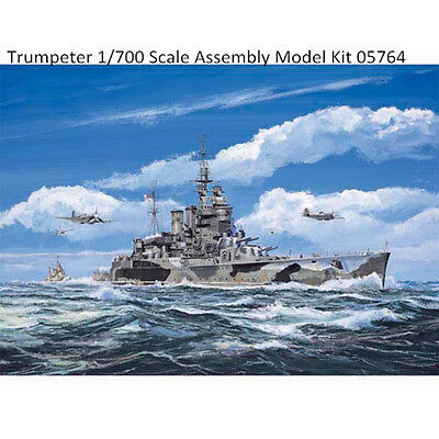 Trumpeter 05764 1/700 HMS Battle Cruiser Renown 1942 Plastic Assembly Model Kits