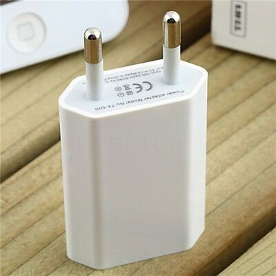 AC 100-240V Home Travel Power Wall Charger Adapter 5V 1A USB Plug Charging Head