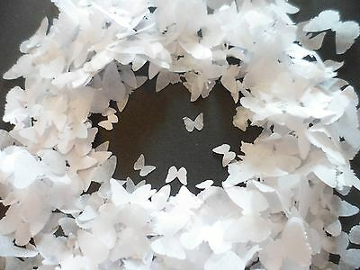 1 Litre of White Butterfly Wedding, Party, Confetti/Celebration/Decoration