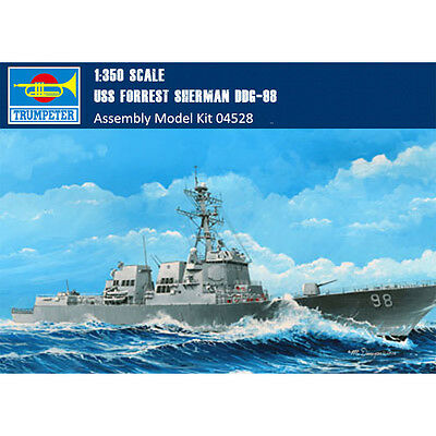 Trumpeter 04528 1/350 USS Forrest Sherman DDG-98 Plastic Assembly Model Kits