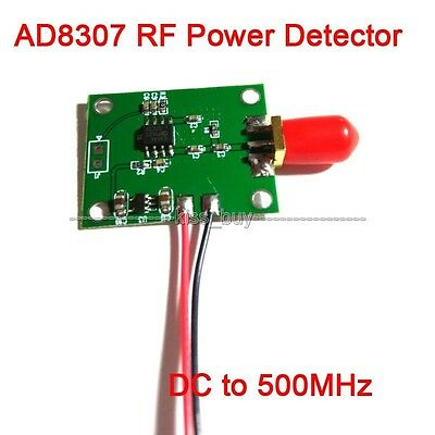 AD8307 RF Power Detector Module DC to 500MHz Transmitter Power Test