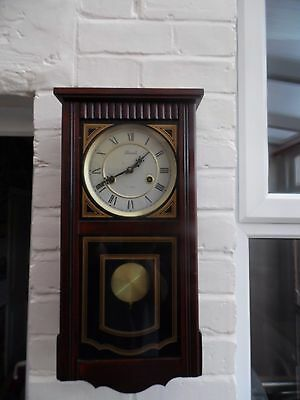 Vintage Lincoln 31 Day Wall Clock
