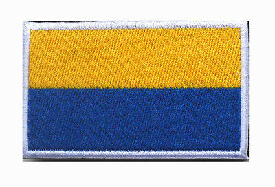 Ukraine flag LOGO Patches ARMY MORALE TACTICAL  BADGE HOOK & LOOP PATCH  SH+758