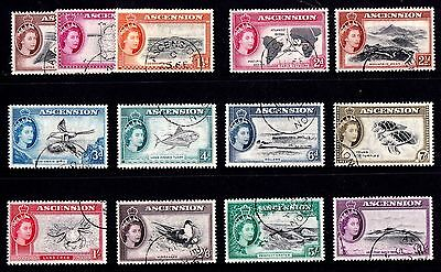 Ascension 1956 Definitive Set Complete Used SG 57-69
