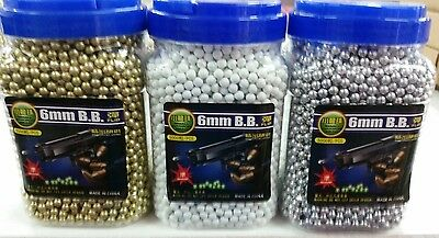 BB Pellets  High Quality hard Plastic 2000 GOLD / SILVER