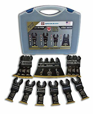 Imperial Blades IBOATV-15 American Made One Fit Titanium Storm Variety Pack Kit