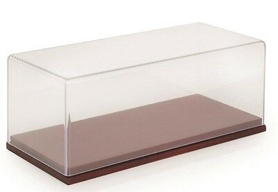 TSM 1:43 Show Case Collection: Wood Base w/ Clear Cover
