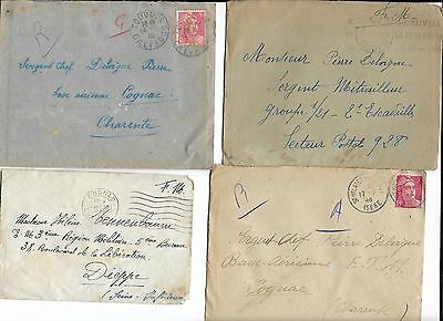 Large Collection of French WWII Letters