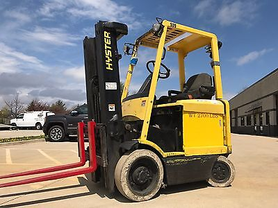 2004 Hyster 4500 Pound forklift-BUDGET LIFT-WE WILL SHIP-L@@K-Triple