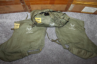 Original Pair of WW2 U.S. Army Air Forces Flying Shoe Inserts from Issue Box 45d
